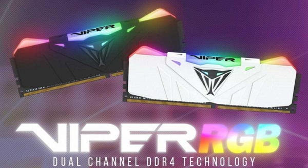 Patriot Viper Black RGB 16GB DDR4 4133MHz Memory.jpg
