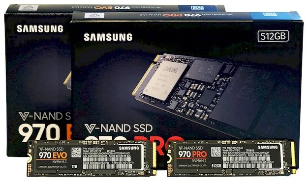 Samsung SSD 970 Pro And 970 EVO.png
